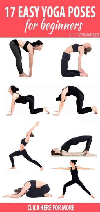 guide of easy yoga poses images