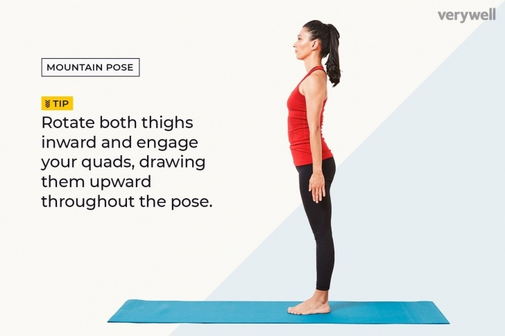 guide of tadasana yoga images images