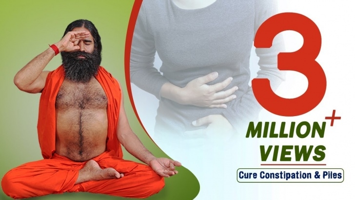 guide of yoga for constipation ramdev photo