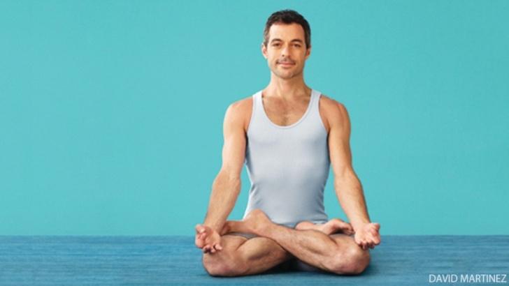 guide of yoga poses meditation photos