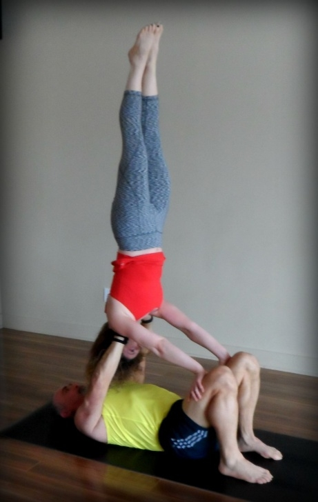 guide of yoga poses shoulder stand acro images