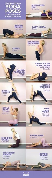 guide of yoga poses upper body photo