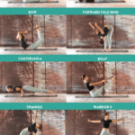 Guide Of Yoga Stretches With Strap Photo