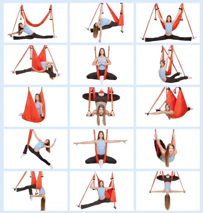most common beginner yoga swing poses images