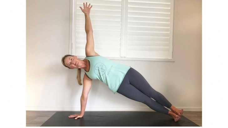 most common easy yoga stretches images