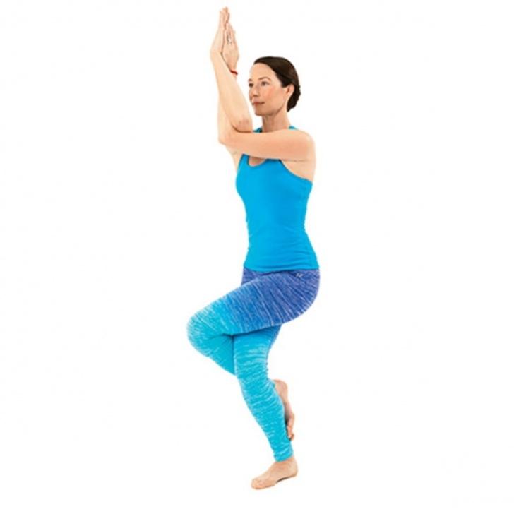 most common garudasana yoga pose image