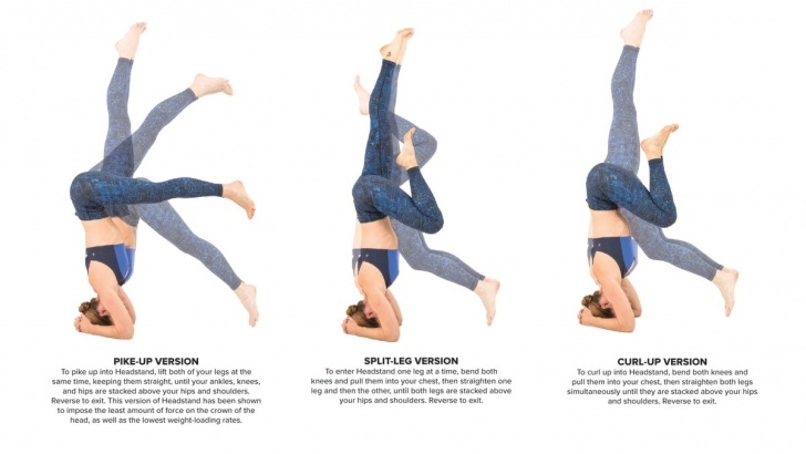 most common headstand in yoga images