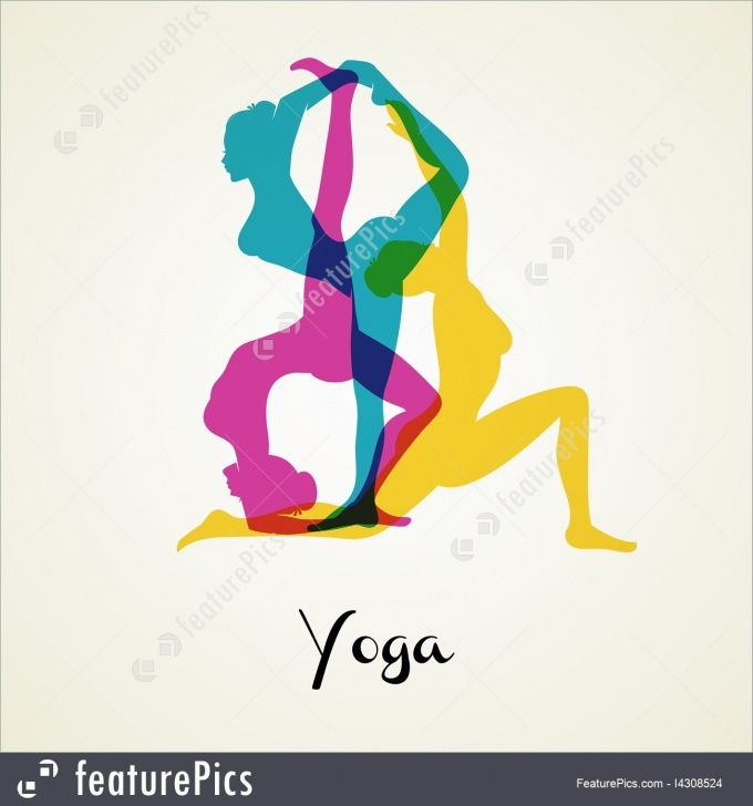 most important yoga poses silhouette photos