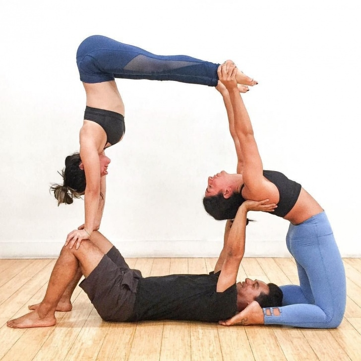 must know 3 person yoga poses beginner photos