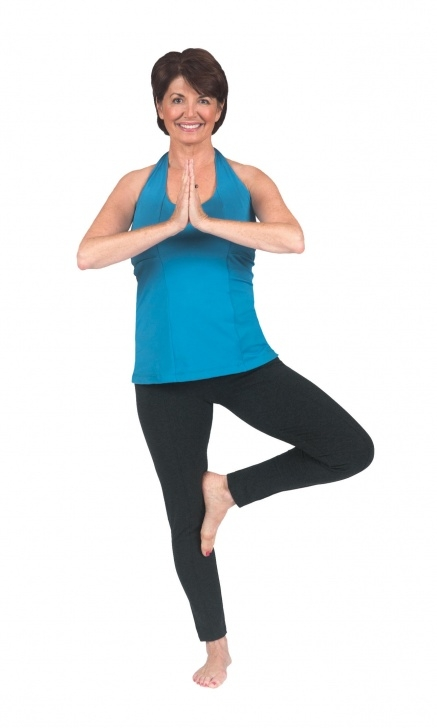 must know easy yoga by peggy cappy image