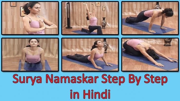 must know surya namaskar yoga in hindi photos