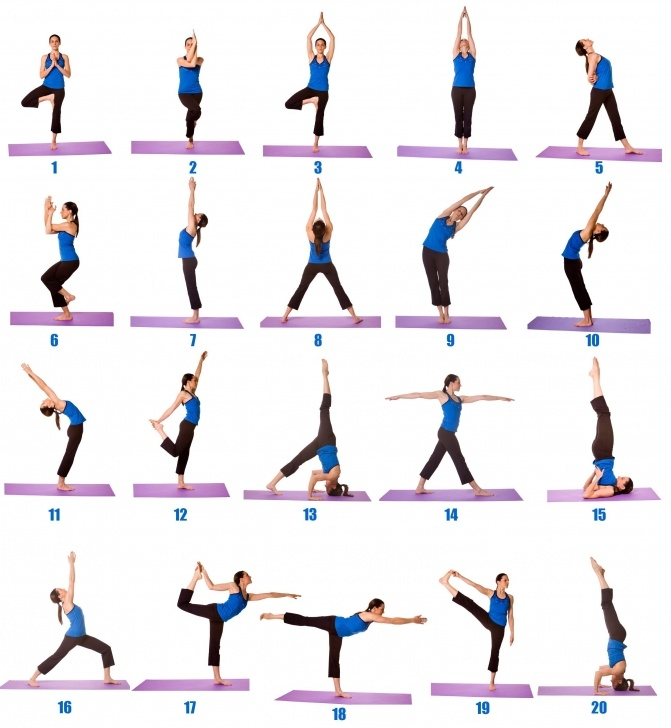 must know yoga exercises for beginners photo