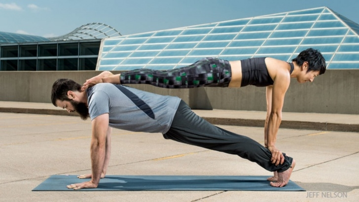 must know yoga moves with a partner images
