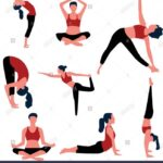 Must Know Yoga Pose Vector Photos