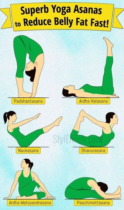 must know yoga poses for weight loss belly images