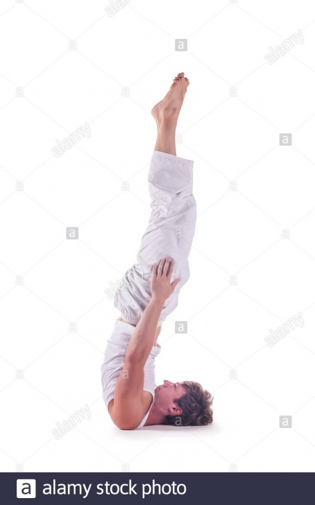 must know yoga poses headstand no hands photo