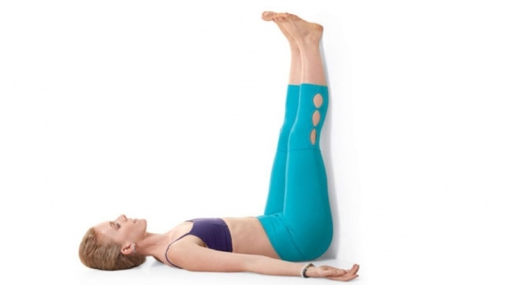 must know yoga poses legs up the wall belly fat images