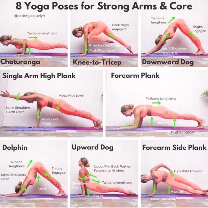 must know yoga poses upper body pictures