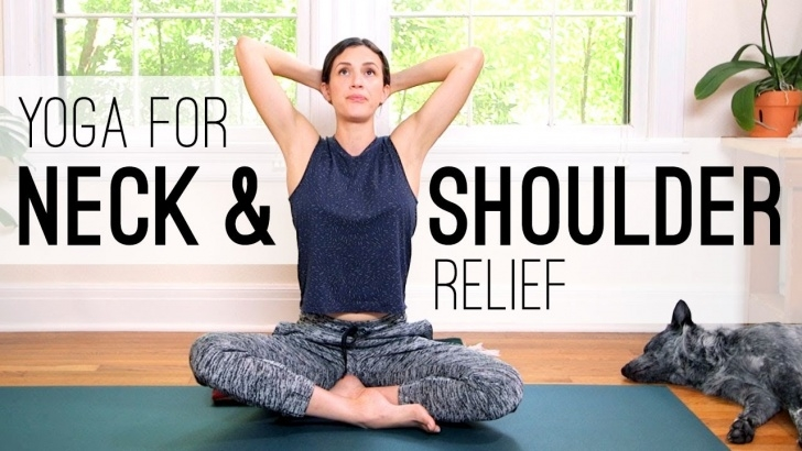 must know yoga stretches neck picture