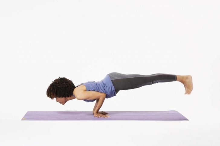 popular advanced yoga balance poses photo
