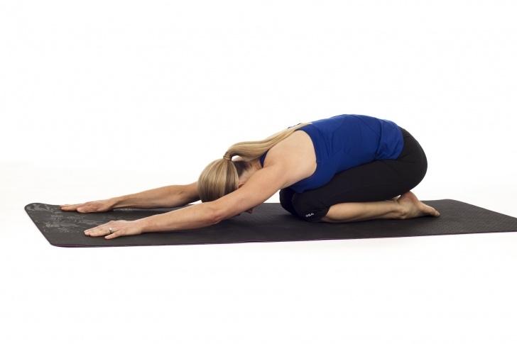 popular child's pose yoga pictures