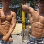 Popular Cobra Pose Bodybuilding Photos