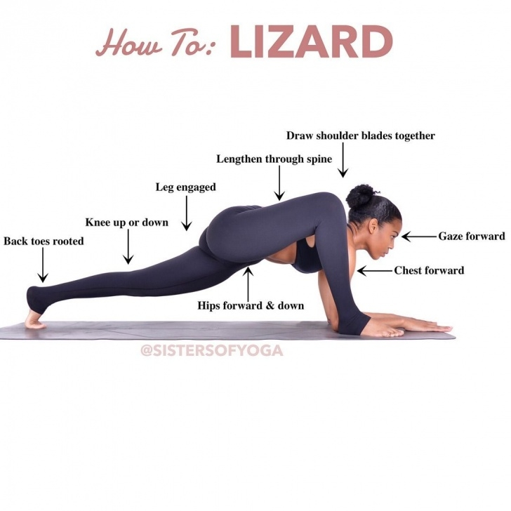 popular lizard pose benefits pictures