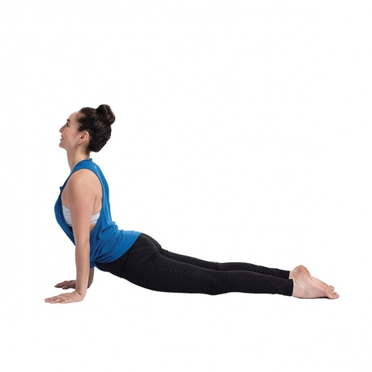popular upward dog yoga image
