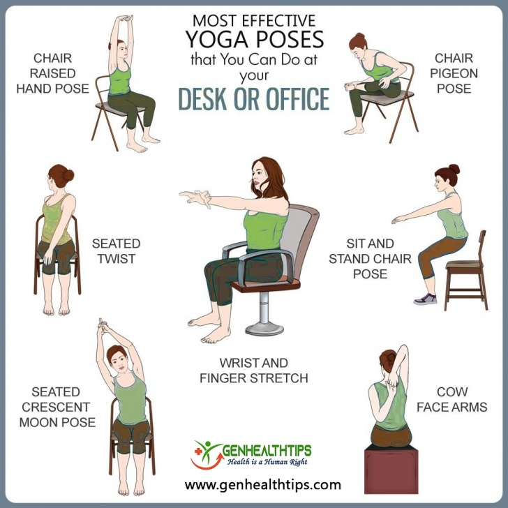popular yoga poses in a chair for seniors photos