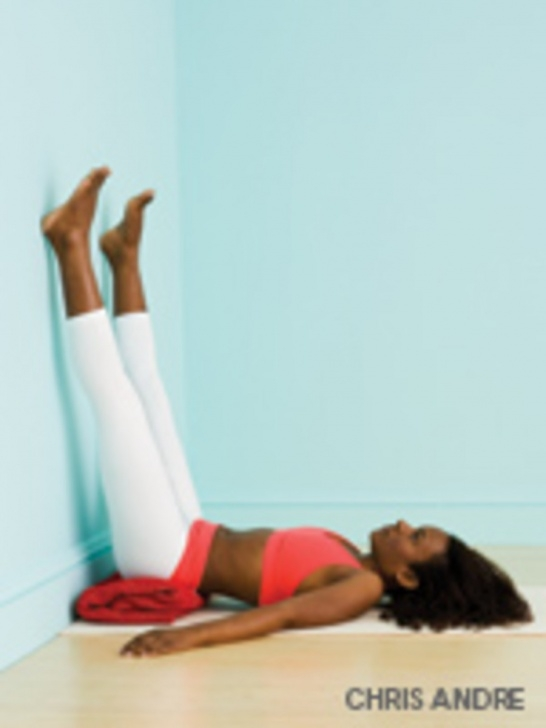 popular yoga poses legs up the wall variations image