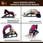 Popular Yoga Poses Viparita Dandasana Bench Image