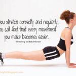 Popular Yoga Stretches Quotes Picture