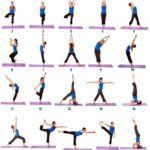 Simple Standing Yoga Poses Chart Photos