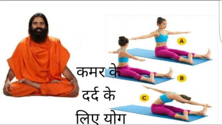 simple yoga for lower back pain ramdev image