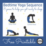 Simple Yoga Poses Before Bed Images