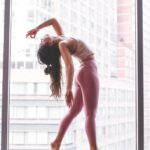 Simple Yoga Poses Girl Photo
