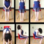 Simple Yoga Poses In A Chair For Seniors Image