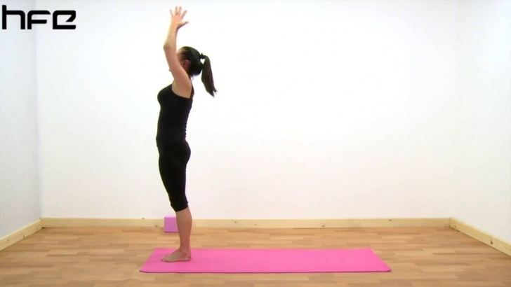 simple yoga poses surya namaskar photo