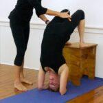 Simple Yoga Poses Viparita Dandasana Bench Picture