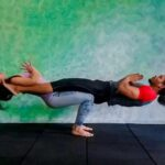 Simple Yoga Poses With Two People Image