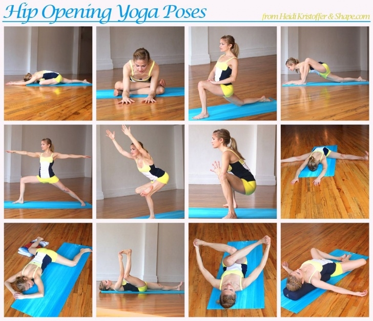 simple yoga sequence to open hips pictures