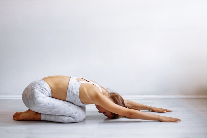 top balasana yoga pose image