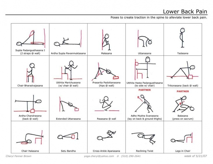top chair yoga for lower back pain photo