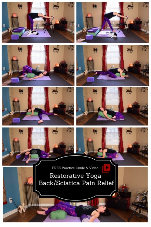 top yin yoga for lower back pain photo